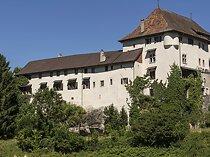 Wunderschöne Burg mit Stall- und Paddock-Nebengebäuden für Pferde