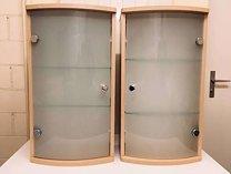 2 Badschränkchen