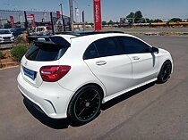 2017 mercedes-benz a 250 sport 4matic amg sport 7g-dct, white with 70000km available now!