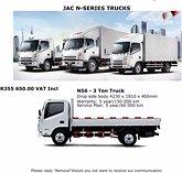 Jac n56 3 ton truck