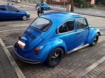 1973 volkswagen beetle jeans 1600 twin port with spares & buddy