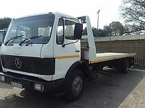 Mercedes benz 8 ton rollback truck for sale