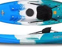 Brand New Fluid Synergy Double Seatet Kayaks 1 FREE PADDLE - Shipped to door RSA