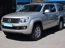 2013 volkswagen amarok my13 2.0 bitdi d/cab highline 4x2, champagne with 213000km available now!