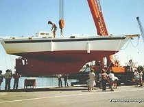 40ft steel gaff rigged cutter for world cruisers