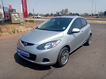2009 mazda mazda2 1.3 active, silver with 80000km available now!