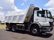 Mercedes benz tipper axor 2628 10 cube truck