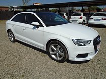 Audi a3 sedan 1.4 tfsi s tronic, white with 113000km, for sale!