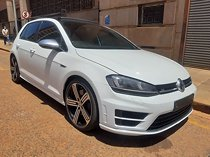2016 volkswagen golf 7 2.0 tsi r, white with 86000km available now!