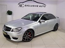 Mercedes-benz c class c63 amg for sale in western cape