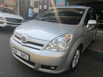 2007 toyota verso 1.8 sx cvt, silver with 97000km available now!