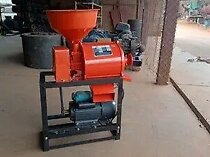 Roller mill with electric motor
