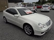 2007 mercedes-benz c-class c230 v6 sports coupe evolution for sale