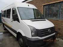 2014 vw crafter 23 seater bus
