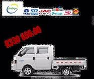 Jac x200 double cab