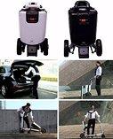 Imoving x1 foldable, portable mobility vehicle