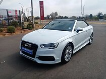 2015 audi a3 cabriolet 1.8 tfsi se s tronic, white with 128000km available now!