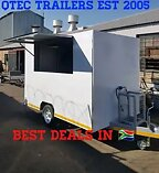 Food trailers by qtec brand new & fully equipped