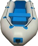 2.8m New Inflatable rubberduck fishing boat,Strong and durable,Sit or standing