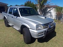 2003, mitsubishi colt double cab with lexus v8 engine, for sale