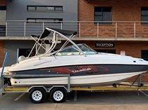 2012 sensation 22 deck boat