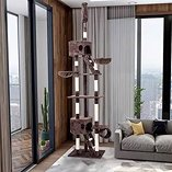 Luxury cats tree,to be placed even in the living room.