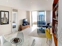 Stylish city apartment with views in secure, beautiful Central Square! Genuine seller relocated!