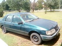 Ford sierra 1986, manual, 2 litres