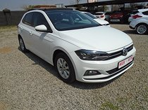 Volkswagen polo 1.0 highline dsg, white with 60000km, for sale!