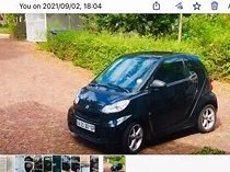 2012 smart fortwo coupe