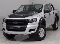 2016 ford ranger 2.2 tdci xl 4x2 d/cab, silver with 47502km available now!