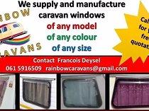 Caravan windows