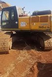 Stripping a Hyundai 360LC for spares
