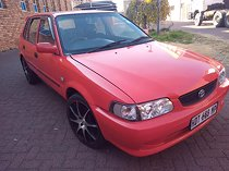 Toyota tazz 1.3, car is in an exelexcel condition, new spray job and new interio