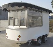 Fully equipped mobile food trailer sales and rentals