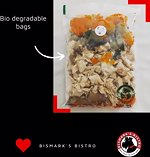 Healthy cooked dog and cat food