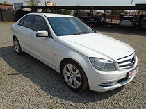 Mercedes-benz c 200 cgi blueefficiency avantgarde, white with 99000km, for sale!