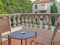Beautiful Villa Via offers this fully furnished apartment!