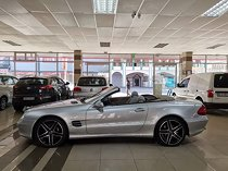 2002 mercedes-benz sl 500 7g-tronic, silver with 57000km available now!