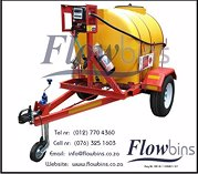 New 600lt to 2500lt horizontal diesel bowser trailers from r28 490