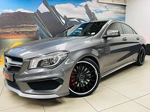 2016 mercedes-benz cla 45 amg 7g-dct, grey with 48000km available now!