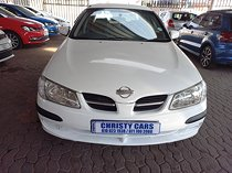 Nissan almera 1.6 comfort, white with 115000km, for sale!