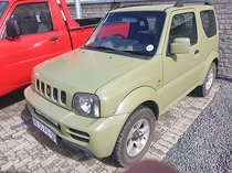 2009 suzuki jimny 1.3, green with 194000km available now!
