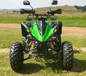 Brand new 250cc raptor style quads on special at limited stock