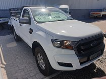 2017 ford ranger 2.2 tdci xls 4x4 s/cab at, white with 160000km available now!