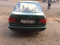 2000 toyota corolla 160i gle, green with 340000km available now!